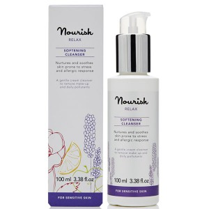 Nourish Relax Softening Cleanser for Sensitive Skin