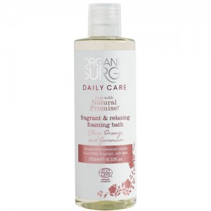 Organic Surge Clove, Orange & Geranium Foaming Bath