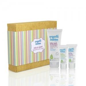 Organic Babies Hello Baby Gift Set