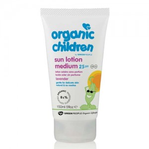 Green People SPF 25 for kids (Lavender)