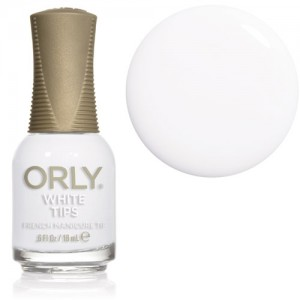 Orly French Manicure White Tips