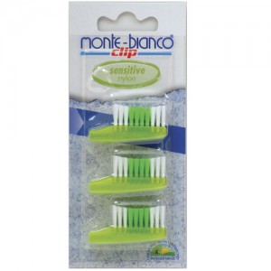 Nylon Bristle  Tooth Brush Heads Sensitive