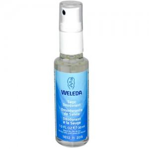 Weleda Sage Deodorant 30ml - Small - Travel Size