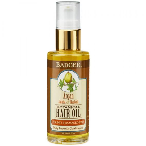 Badger Argan Hair OIl for Dry & Damaged Hair