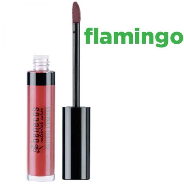 Benecos Natural Lipgloss - FLAMINGO
