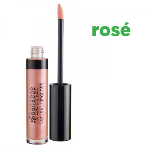 Benecos Natural Lipgloss - ROSE