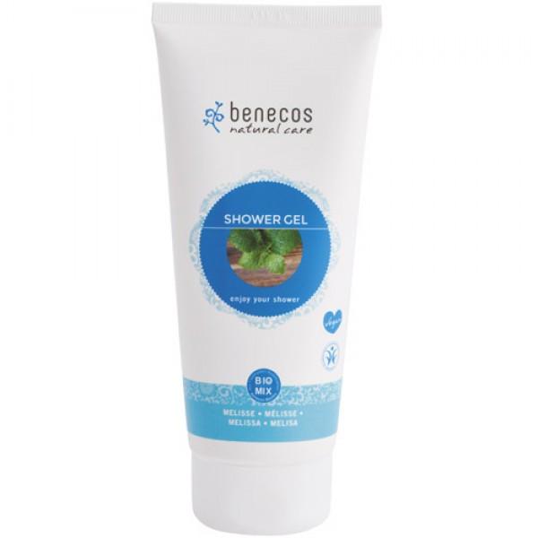 Benecos Shower Gel in Melissa (Lemon Balm)