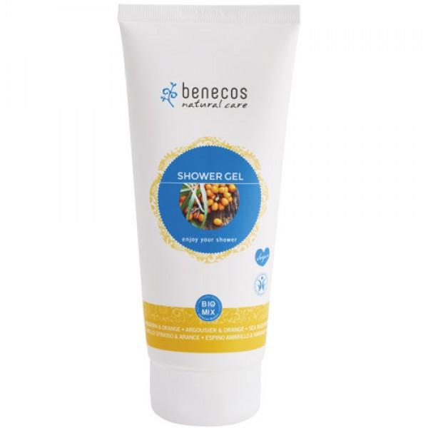 Benecos Shower Gel in Seabuckthorn & Orange