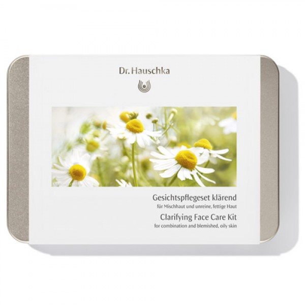 Dr Hauschka Clarifying Face Care Kit for combination and blemished, oily skin