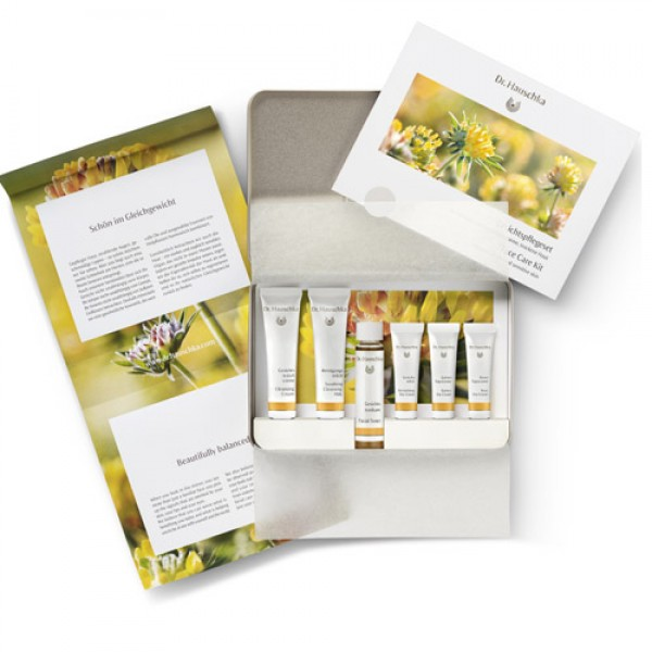 Dr Hauschka Face Care Kit for normal, dehydrated and dry skin
