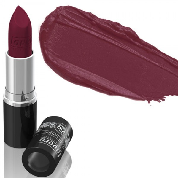 Lavera Lipstick 28 Matt 'n Plum - Deep Plum Matte