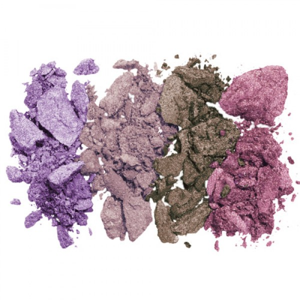 Lavera Illuminating Baked Eye Shadow Quattro - 02 Lavender Couture