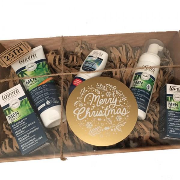 Lavera Men Shaving & Skincare Gift (+£5 to wrap as hamper)
