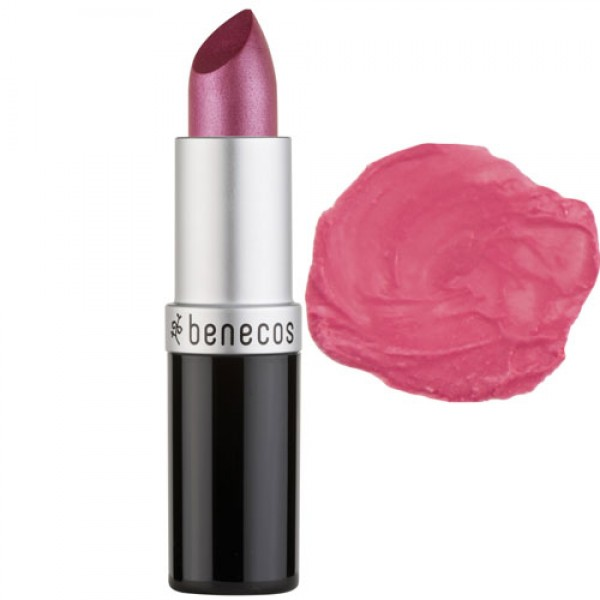 Benecos Natural Lipstick - HOT PINK