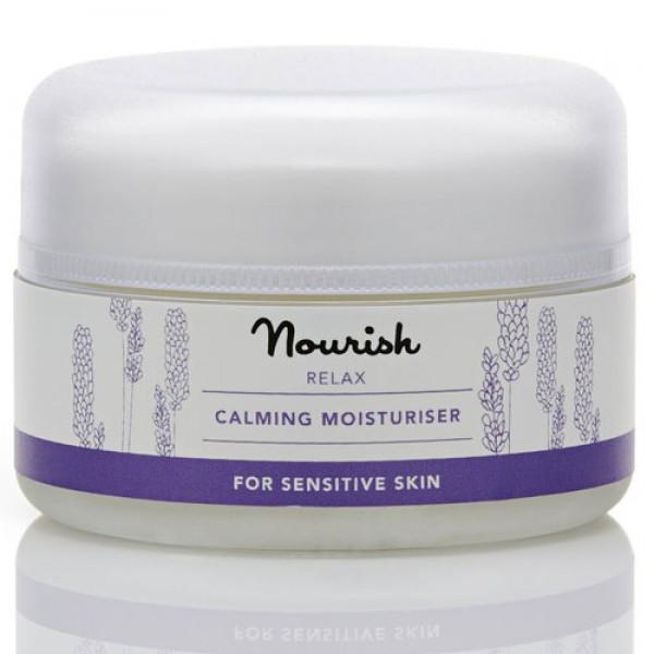 Nourish Relax Calming Moisturiser for sensitive skin
