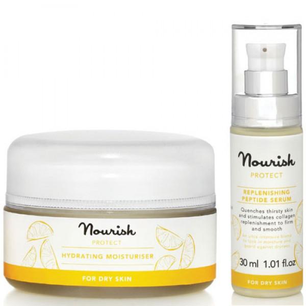 Nourish Protect Hydrating Moisturiser & Peptide Serum
