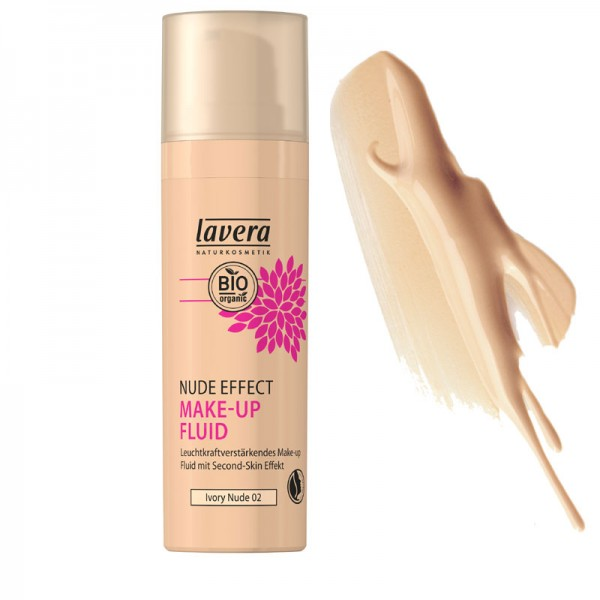 Lavera Nude Effect Make Up Fluid - 02 Ivory Nude