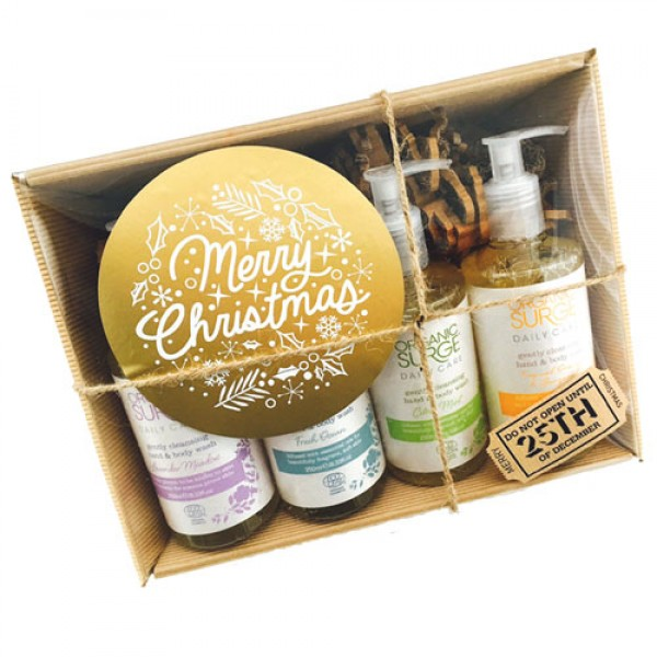 Organic Surge Hand & Body Wash Collection Wrapped as Hamper (+£4.50)