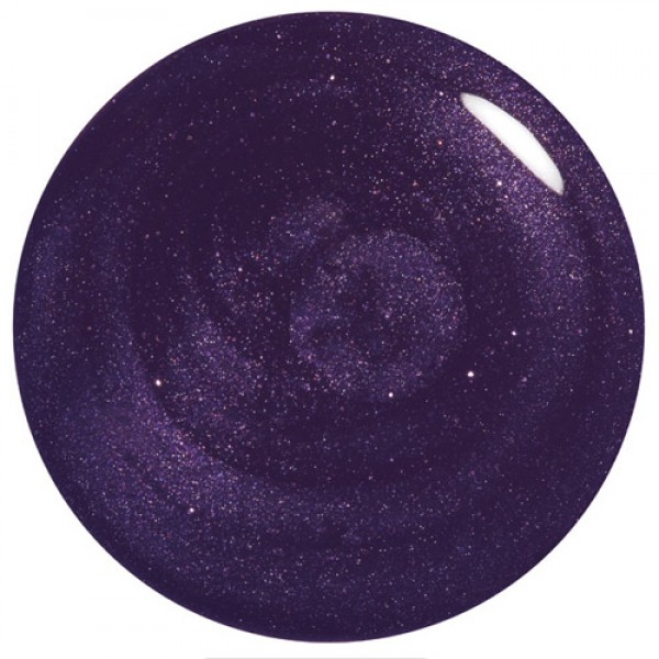 Rich medium to deep purple sparkle with subtle purple glitter, very pretty.