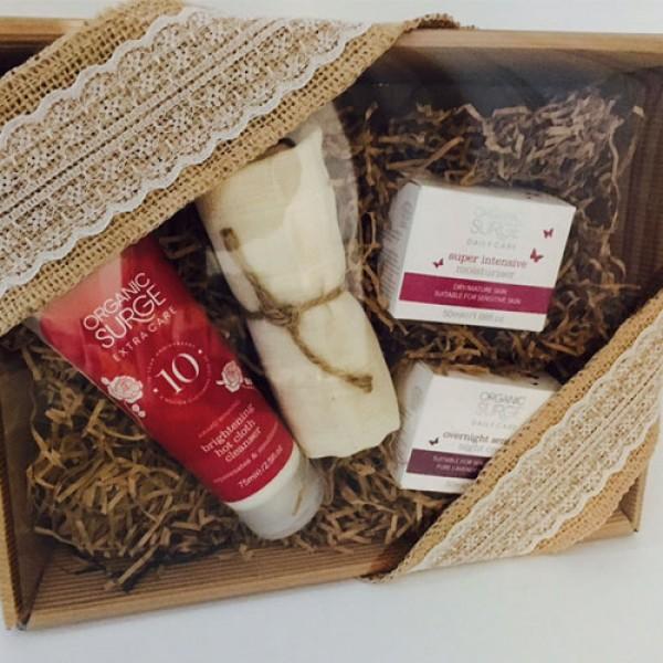 Organic Surge Dry / Mature Skin Care Kit - (+£5 Wrapped as Hamper)