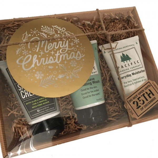 Pacific Shaving 3 Step Shave System - (+£5 wrapped as hamper)